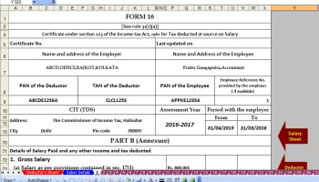 Download Automated Tax Challan 280 for Self Assessment Tax