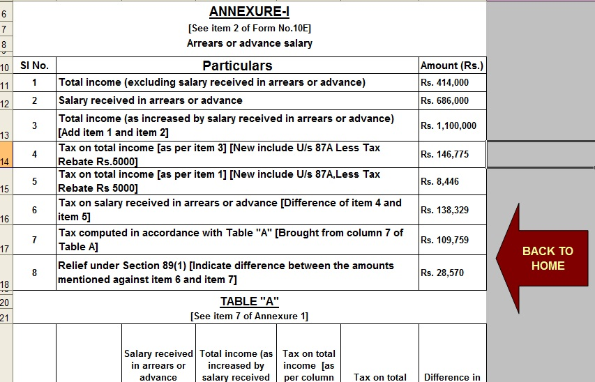 download income tax calculator for A Y  2019-20